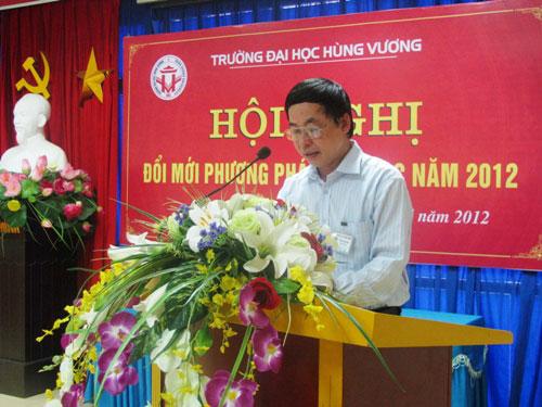Hoi nghi doi moi phuong phap day hoc nam 2012