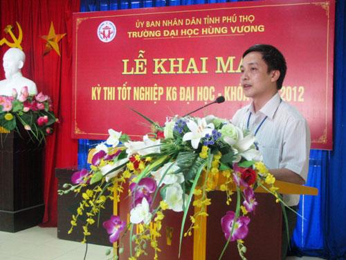 Khai mac ky thi tot nghiep Dai hoc, he chinh quy tap trung nam 2012