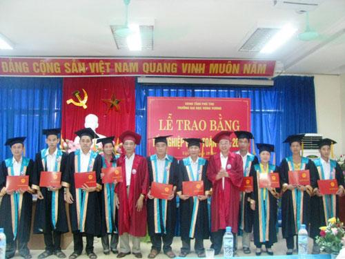 137 hoc vien nhan bang tot nghiep Dai hoc su pham Toan nam 2012