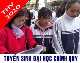 Thong tin tuyen sinh dai hoc he chinh quy nam 2020 - Ma truong THV
