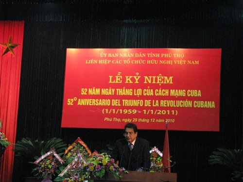 Le ky niem 52 nam ngay Quoc khanh Cu Ba (1/1/1959 – 1/1/2011)