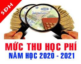 Quy dinh muc thu hoc phi nam hoc 2020 - 2021