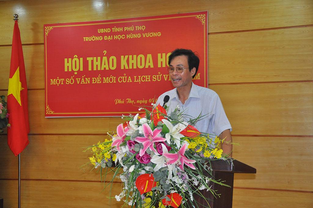 """Khoa Khoa hoc Xa hoi va Nhan van to chuc Hoi thao khoa hoc """"Mot so van de moi cua lich su Viet Nam"""""""