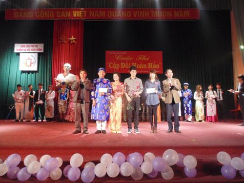 "Khoa Khoa hoc Tu nhien to chuc thanh cong cuoc thi ""Cap doi hoan hao"" nam 2014"