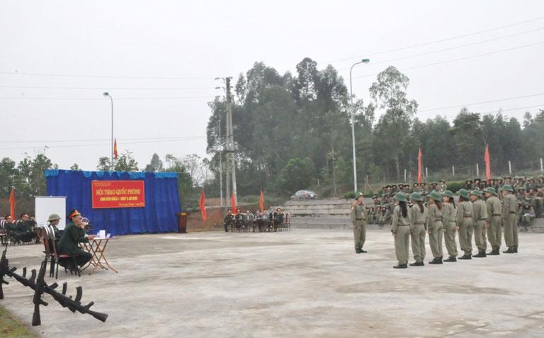 Trung tam Giao duc quoc phong va an ninh, Truong Dai hoc Hung Vuong to chuc Hoi thao quoc phong sinh vien Khoa 6 – GDQP&AN