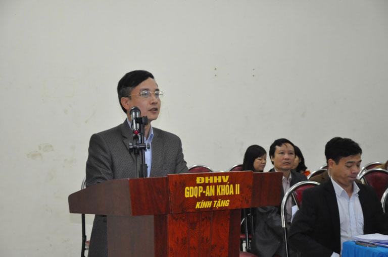 Truong Dai hoc Hung Vuong to chuc hoi nghi giao ban cong tac quan ly sinh vien noi tru