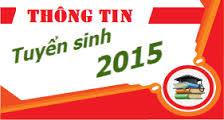 Thong bao nhan ho so xet tuyen dai hoc, cao dang nam 2015 – Dot 1