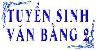 Thong bao tuyen sinh Dai hoc van bang 2 nam 2015