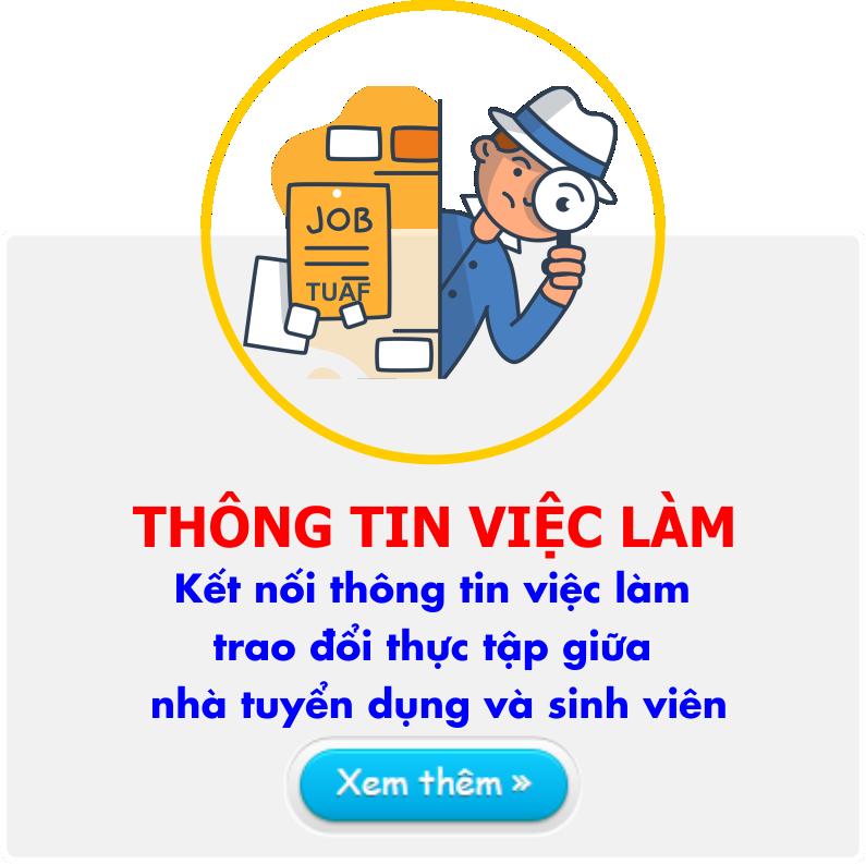 Thong tin ve viec lam cho sinh vien Dai hoc Hung Vuong