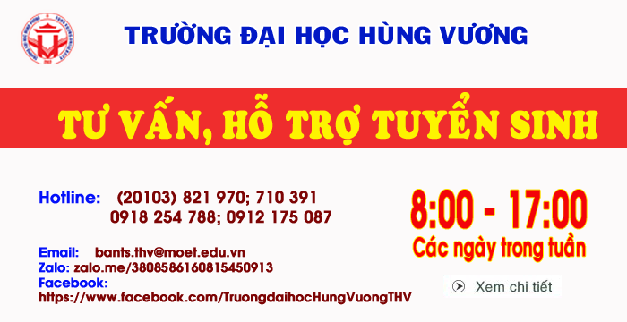 Truong Dai hoc Hung Vuong tang cuong cong tac tu van tuyen sinh dai hoc nam 2019