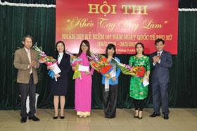 Hoi thi Kheo tay hay lam nhan ky niem Ngay Quoc te Phu nu 8/3 va Khoi nghia Hai Ba Trung nam 2017