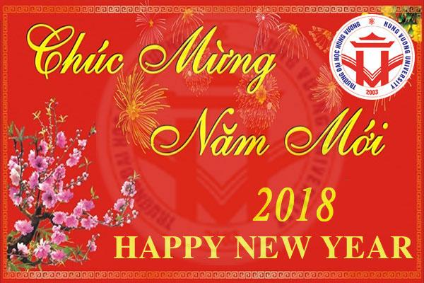 Thu chuc Tet Mau Tuat nam 2018 cua Bi thu Dang uy, Hieu truong Truong Dai hoc Hung Vuong