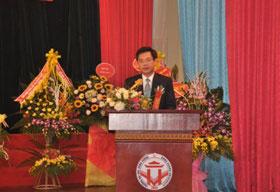 Toan van bai phat bieu cua Hieu truong Truong Dai hoc Hung Vuong tai le ky niem 10 nam thanh lap Khoa Nong Lam Ngu (2007-2017)