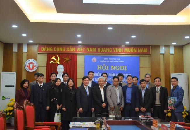 Truong DH Hung Vuong to chuc Hoi nghi trien khai phoi hop trong cong tac dao tao va tuyen sinh nam 2019