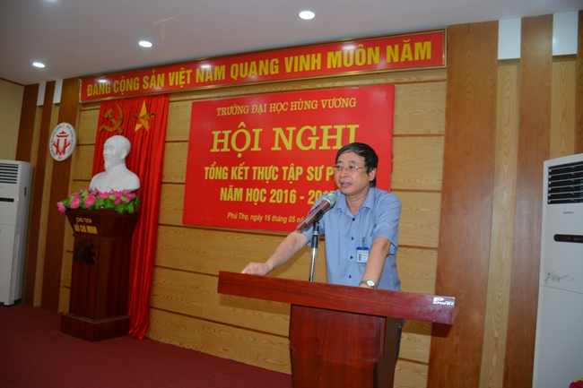 Hoi nghi tong ket thuc tap su pham nam hoc 2016 - 2017