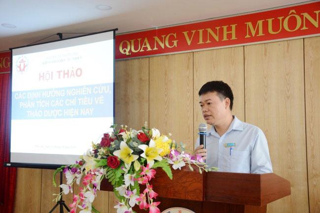 "Khoa hoc Tu nhien chu tri to chuc Hoi thao khoa hoc: ""Cac dinh huong nghien cuu, phan tich cac chi tieu ve thao duoc hien nay"""
