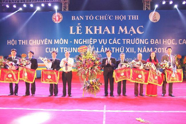 Le Khai mac Hoi thi chuyen mon - nghiep vu cac truong Dai hoc, Cao dang cum Trung Bac lan thu XII, nam 2018 thanh cong tot dep