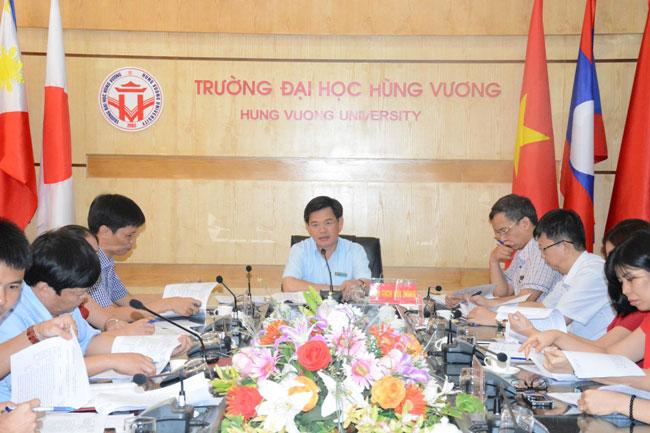 Truong Dai hoc Hung Vuong to chuc Hoi nghi tu van xac dinh nhiem vu Khoa hoc - Cong nghe, dot 2 nam 2018