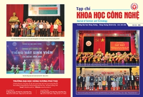 Tap chi Khoa hoc Cong nghe so 5 - 2016