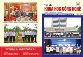 Tap chi Khoa hoc Cong nghe so 6 - 2017