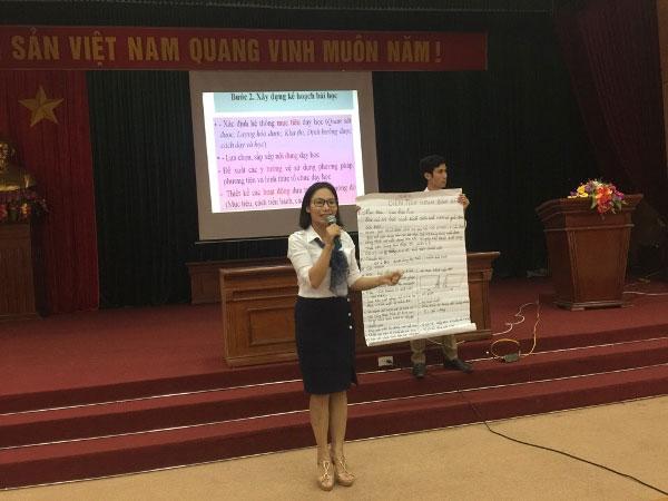 Cong tac boi duong chuyen mon cho can bo quan ly, Giao vien mam non, tieu hoc, THCS nam hoc 2017- 2018 tai Truong Dai hoc Hung Vuong
