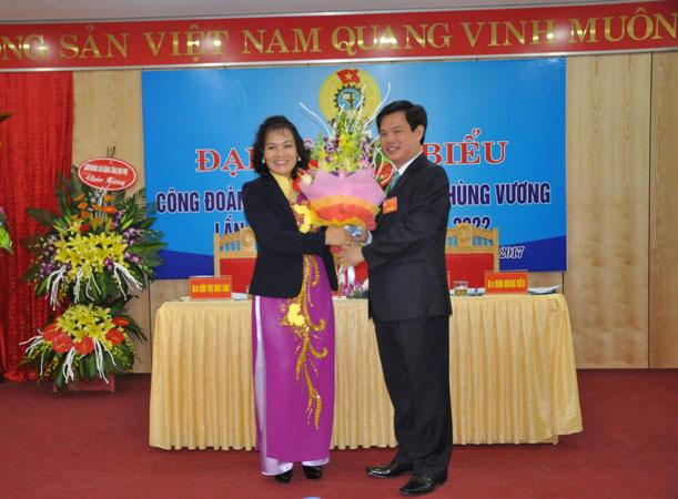 Cong doan Truong Dai hoc Hung Vuong to chuc Dai hoi dai bieu Cong doan co so khoa XXI, nhiem ky 2017 - 2022