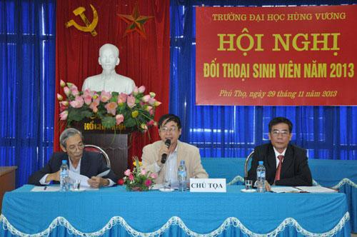 Hoi nghi doi thoai sinh vien nam 2013