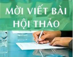 Thong bao/Giay moi viet bai Hoi thao
