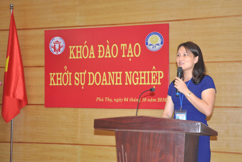"""Trường Đại học Hùng Vương phối hợp với trường Bồi dưỡng cán bộ Tài chính, Bộ Tài chính tổ chức thành công khóa đào tạo """"Khởi sự doanh nghiệp"""""""