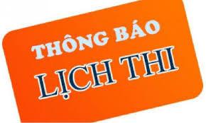 Thong bao lich thi hoc ky 2 lan 2 va hoc ky 3, nam hoc 2019 - 2020