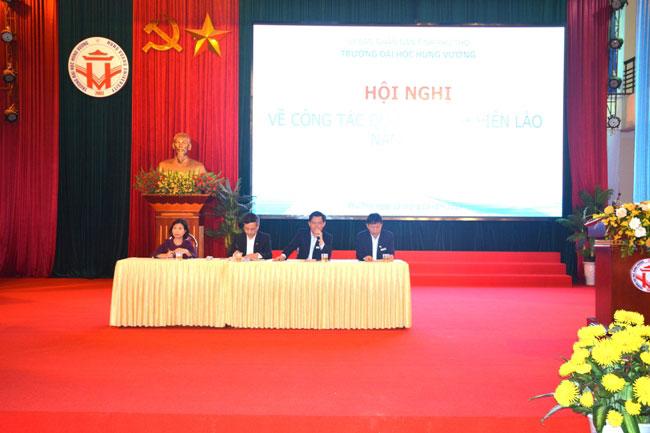 Hoi nghi ve cong tac quan ly sinh vien Lao nam 2019