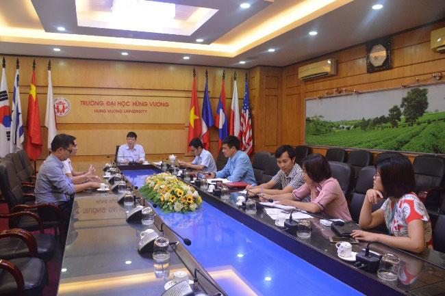Cong ty TNHH Newwing Interconnect Technology (Bac Giang) tham va lam viec voi Truong Dai hoc Hung Vuong