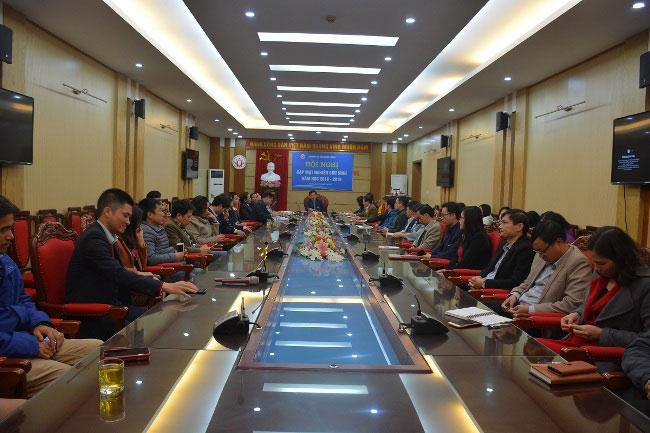 Hoi nghi gap mat nghien cuu sinh nam hoc 2018 – 2019