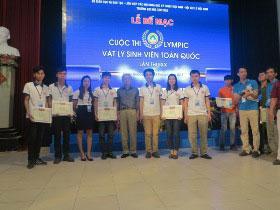 Khoa Toan - Tin tham gia Cuoc thi Olympic Vat ly sinh vien toan quoc lan thu XX nam 2017