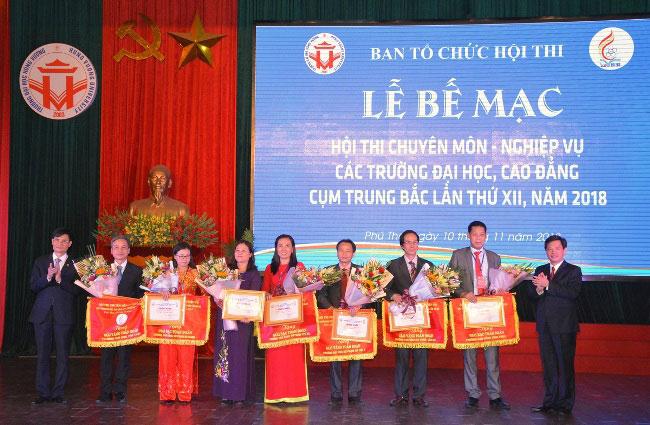 Hoi thi chuyen mon - nghiep vu cac truong Dai hoc, Cao dang cum Trung Bac lan thu XII, nam 2018 thanh cong tot dep