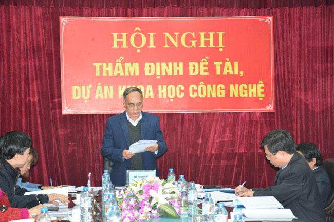 Hoi nghi tham dinh de tai, du an khoa hoc cap tinh cua Truong Dai hoc Hung Vuong thanh cong tot dep