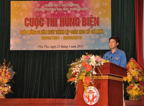 Truong Dai hoc Hung Vuong to chuc cuoc thi hung bien nam 2015