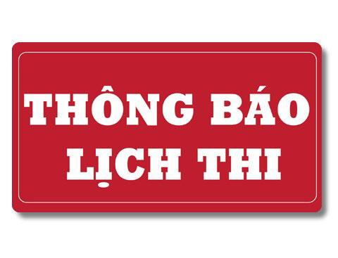 Thong bao lich thi hoc ky 3 nam hoc 2018 - 2019