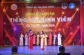 "Doan TNCS Ho Chi Minh, Hoi sinh vien Truong Dai hoc Hung Vuong phoi hop voi Phong CTCT&HSSV to chuc cuoc thi ""Tieng hat sinh vien"" lan thu VII-2016"