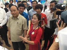 """Truong Dai hoc Hung Vuong co san pham lot top 30 san pham tham du tai Trien lam """"Tu hao Tri tue lao dong Viet Nam"""" nam 2017"""