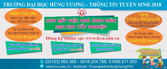 Sinh vien tuong lai cua Truong Dai hoc Hung Vuong (HVU) can biet?