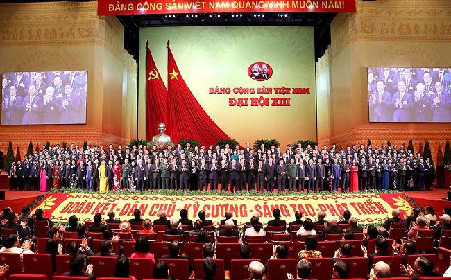 Bế mạc Dại hội dại biểu toàn quốc lần thứ XIII của Dảng