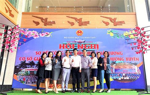 Truong DH Hung Vuong chuan bi co so vat chat san sang cho Hoi nghi So ket cong tac Kiem dinh chat luong co so giao duc mam non, pho thong va thuong xuyen giai doan 2015 - 2020 (Bo Giao duc va Dao tao to chuc)