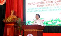 Hoi thao: Boi duong the he tre Dat To vua