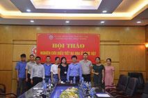 "Truong Dai hoc Hung Vuong to chuc Hoi thao khoa hoc ""Nghien cuu dieu tiet ra hoa o thuc vat"""