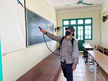 Truong DH Hung Vuong san sang don sinh vien quay tro lai hoc tap tap trung tai truong