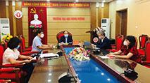Truong DH Hung Vuong tham du Hoi nghi truc tuyen voi cac truong DHSP, cac co so giao duc dai hoc co dao tao giao vien do Bo Giao duc va Dao tao to chuc