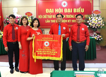 Dai hoi dai bieu Hoi Chu thap do cua Truong DH Hung Vuong, lan thu III nhiem ky 2021 - 2026 thanh cong ruc ro
