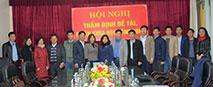 Hoi nghi tham dinh de tai, du an khoa hoc cong nghe cap tinh cua Truong Dai hoc Hung Vuong thanh cong tot dep