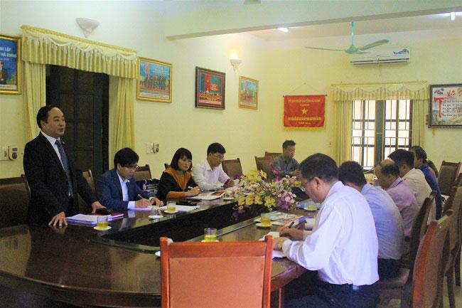 Truong Dai hoc Hung Vuong (Phu Tho) xuc tien chuong trinh hop tac toan dien voi Truong Cao dang Ky thuat va Cong nghe (Ha Giang)